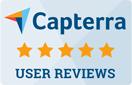 Capterra 4,5 stars